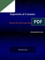 Imposición al Consumo (Primera Parte) - Javier Luque