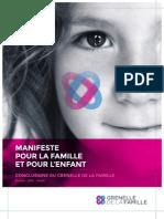 Manifeste Pour La Famille Et Pour l'Enfant