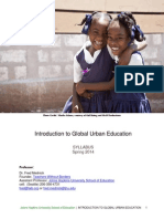 Introduction to Global Urban Education