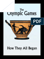 The Olympic Games How They All Began