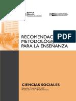 RM Sociales Primaria