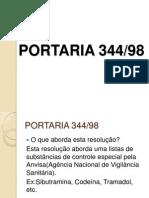 Portaria 344 N