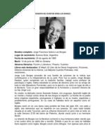 BIOGRAFÍA DEL ESCRITOR JORGE LUIS BORGES