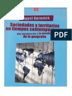 Sociedades y Territorios en Tiempos Contemporaneos Raquel Gurevich