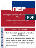 Avaliacao Nacional Da Alfabetizacao