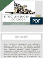 Estructuralismo en la sociología