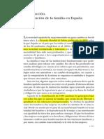 Introducción. La evolución de la familia en España (2004) fundación  BBVA