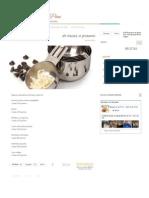 Equivalencias de tazas a gramos en Máquina de Pan