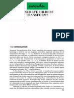 Discrete Hilbert Transforms