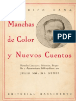 Federico Gana - Manchas de Color y Nuevos Cuentos