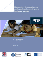Hawkes (2012) Education Skills Growth