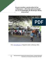 Plan de prevención y protección de los DD HH y DIH  en el municipio de Restrepo-Meta, 2013-2015