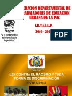 Racismo y Toda Forma de Discriminacion - Copia