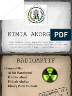Kimia Anorganik Ppt Radioaktif