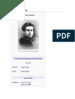 Antonio Gramsci (Biografia)