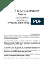 Prestación de Servicios Públicos