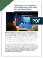 Climate Action Plan Westward Group Energy Alternatives Paris Blog