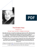Einstein Hoax Proof That Einstein Was a IDIOT