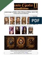 Baldur's Gate 2 Enhanced Edition Walkthrough for SoA & ToB Cleric/Ranger