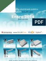 21.10.2013 PRESENTACIÓN SOLAR LED FSL 2014