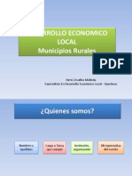 1 Que Es Desarrollo Economico Local Apurimac