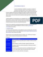 CARACTERÍSTICAS DE LOS TRASTORNOS DE CONDUCTA