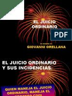 El Juicio Ordinario