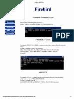 Firebird - Criando Banco de Dados