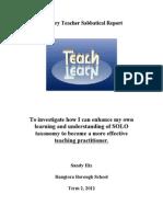Primary Teacher Sabbatical Report (1)