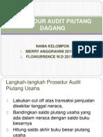 Pertm 1_prosedur Audit Piutang Dagang