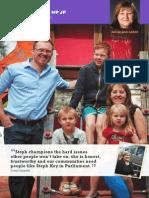 Endorsement Flyer - Steph Key MP for Ashford
