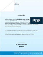 Carta Luis