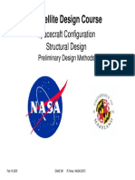 Satellite Design Course Spacecraft Configuration Structural Design Preliminary Design Methods