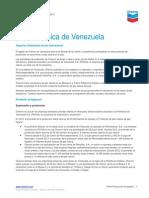 Venezuela Fact Sheet Spanish