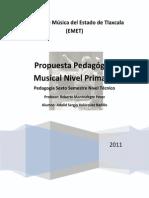 Propuesta Pedagógica Nivel Primaria