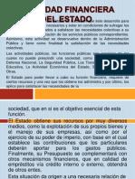 Expo Actividad Financiera Del Estado