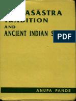 The Natyasastra Tradition and Ancient Indian Society - Anupa Pande