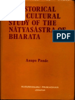 A Historical and Cultural Study of the Natyasastra of Bharata - Anupa Pande