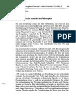 Leibniz und die chinesische philosophie