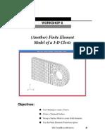 Lesson08 3D FEM Clevis