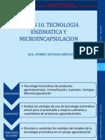 Sesion 10. Tecnologia Enzimatica y Microencapsulacion