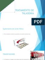 Tratamiento de Talasemia