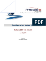 Configuration Notes 0296 Mediatrix 3000 With Asterisk