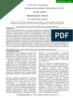 Bacterial Amylase a Review. Naidu Et Al