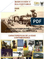 Edades Contemporanea Atomica Espacial Tecnologica Uptc