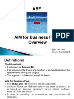 Aims for Business Flow