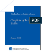 Conflicts Toolkit