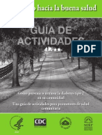 Road to Health Activities Guide Spanish