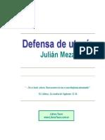 Meza, Julian - Defensa de Utopia