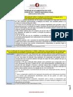 Principais Julgados de 2011 - 2o Semestre - Processo Penal